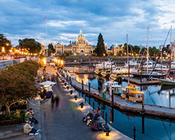 Victoria Inner Harbour. Credit: androver, Shutterstock